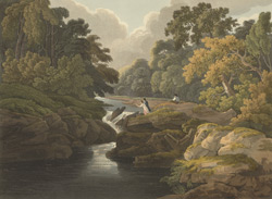 The Strid near Bolton Priory